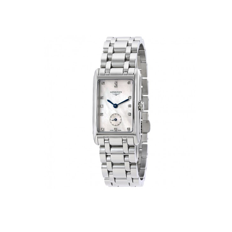 orologi Uomo Orologio Donna Longines DolceVita White Mother Of Pearl Dial Ladies Watch
