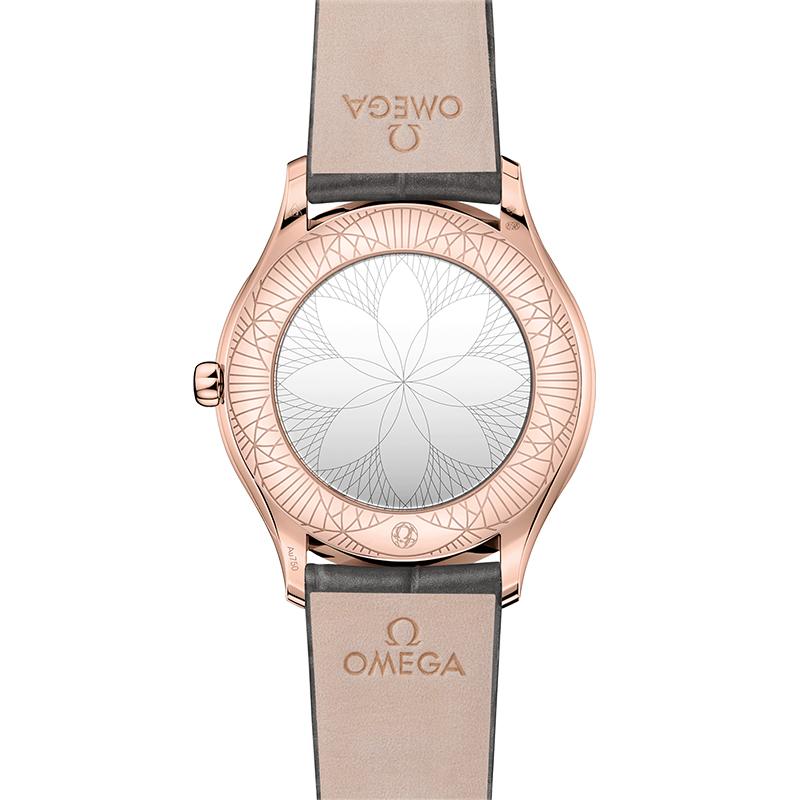 Orologio Donna Omega De Ville Trésor quartz oro rosa argento