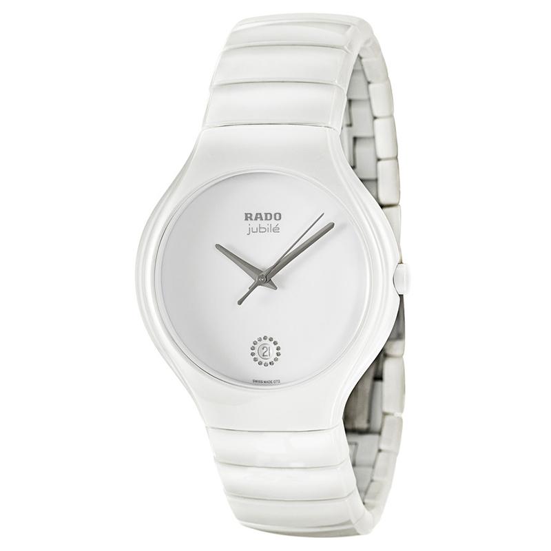 gioielli-e-orologiDonnaOrologio Donna Rado Jubilé ceramica bianca