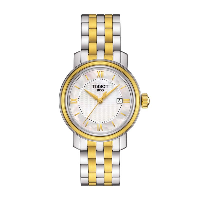 gioielli-e-orologiDonnaOrologio Donna Tissot Bridgeport oro giallo PVD