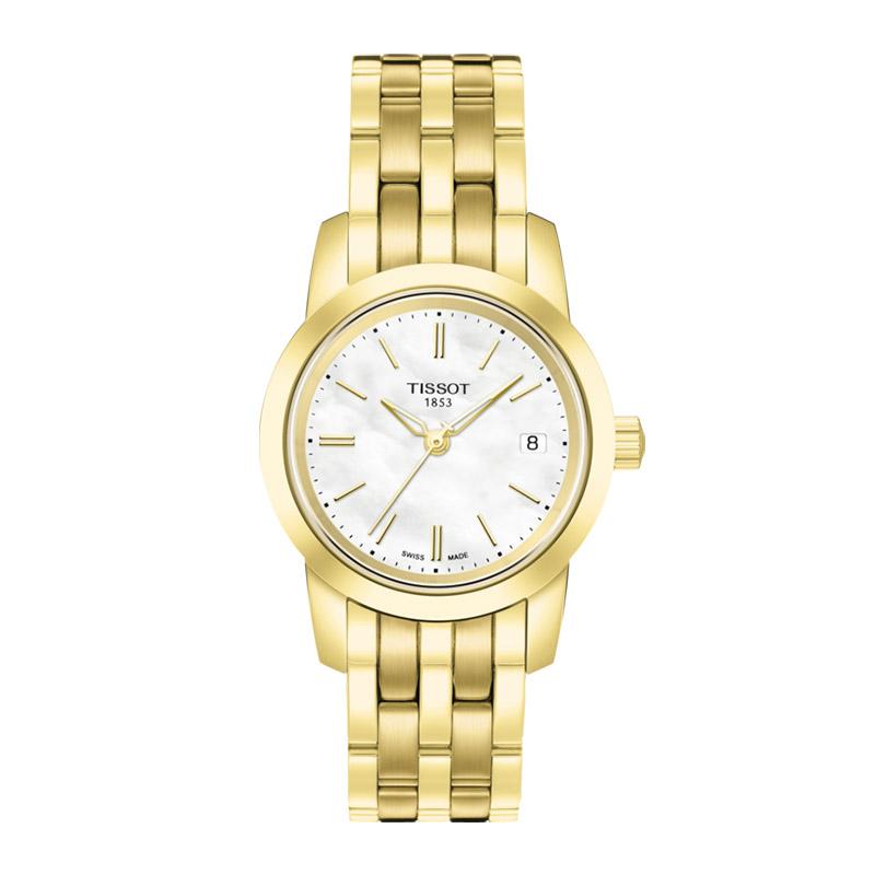 orologiDonnaOrologio Donna Tissot Classic Dream oro giallo PVD