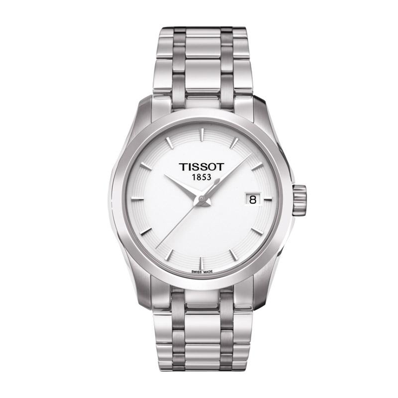 orologiDonnaOrologio Donna Tissot Couturier quadrante bianco