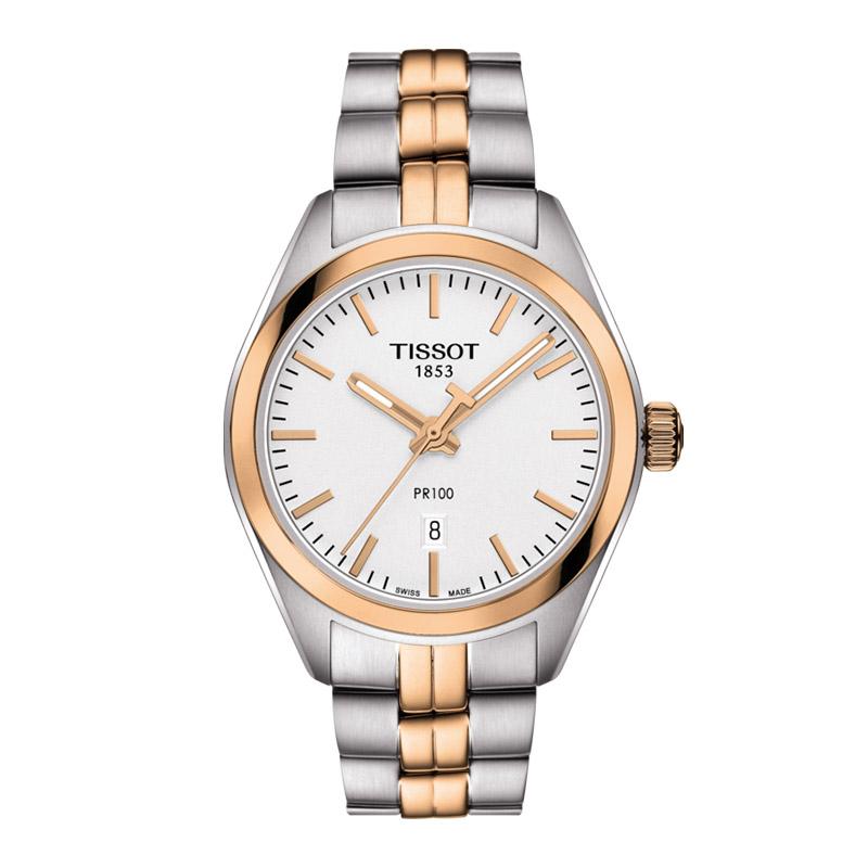 gioielli-e-orologiDonnaOrologio Donna Tissot PR 100 oro rosa PVD