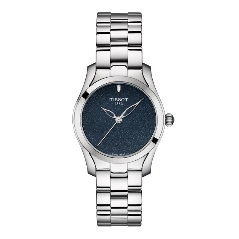 gioielli-e-orologiDonnaOrologio Donna Tissot T-Wave blu