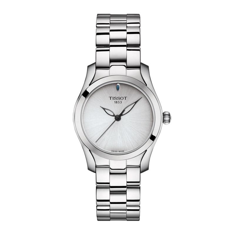 orologiDonnaOrologio Donna Tissot T-Wave silver