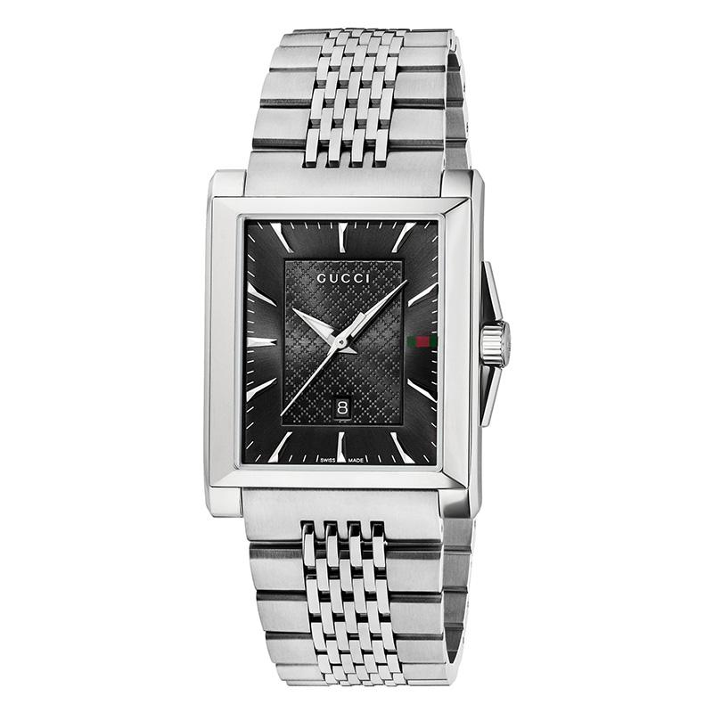 orologiUomoOrologio Gucci G-Timeless diamante nero