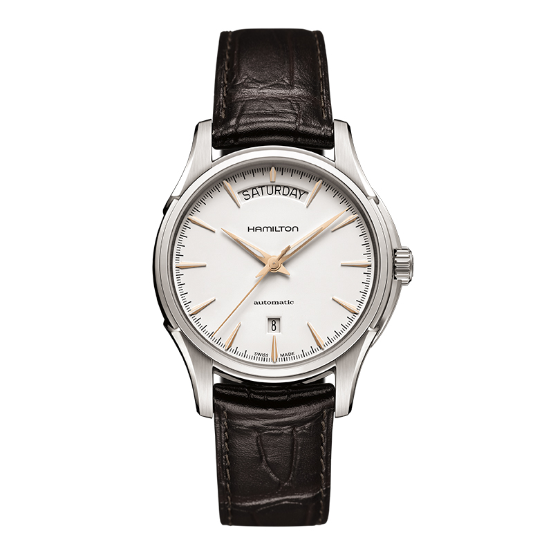 gioielli-e-orologiUomoOrologio Hamilton Jazzmaster day date stile raffinato