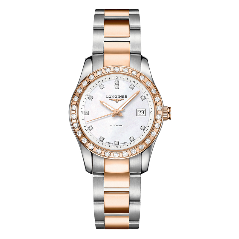 orologi Donna Orologio Longines Conquest Classic automatic diamond