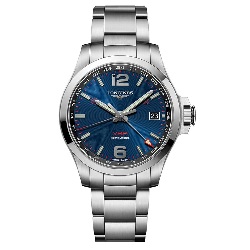 gioielli-e-orologiUomoOrologio Longines Conquest V.H.P. GMT