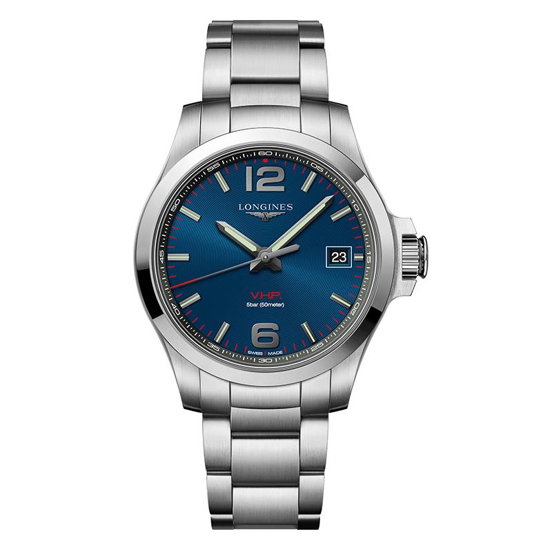 gioielli-e-orologiUomoOrologio Longines Conquest V.H.P. blu