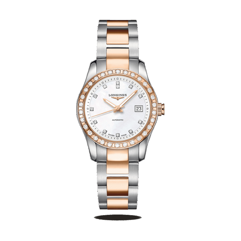 gioielli-e-orologi Donna Orologio Longines Donna Conquest Classic - Automatic Ladies Watch 29,5mm diamond new