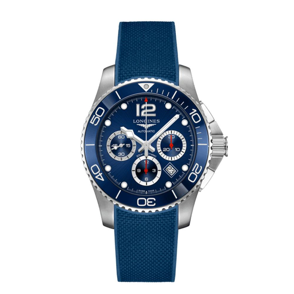 Orologio Longines HydroConquest 43mm Blue Dial Stainless Steel/Ceramic Chronograph