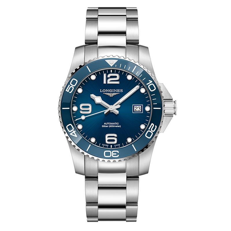 gioielli-e-orologiUomoOrologio Longines Hydroconquest acciaio blu 41mm