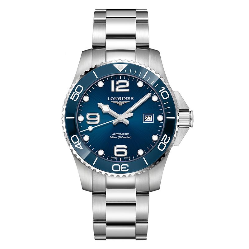 gioielli-e-orologiUomoOrologio Longines Hydroconquest acciaio blu 43mm