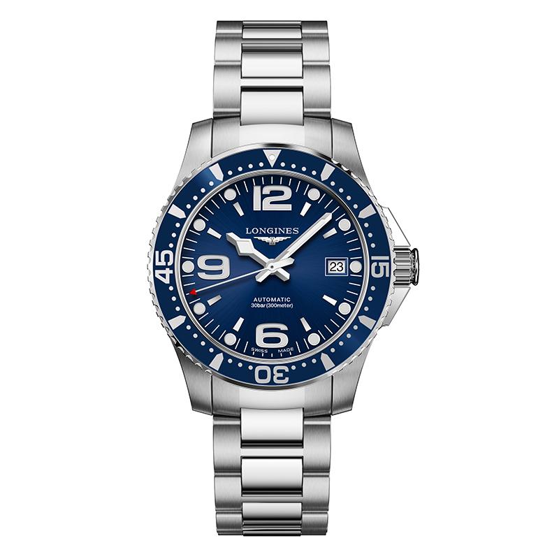 gioielli-e-orologiUomoOrologio Longines Hydroconquest acciaio blu
