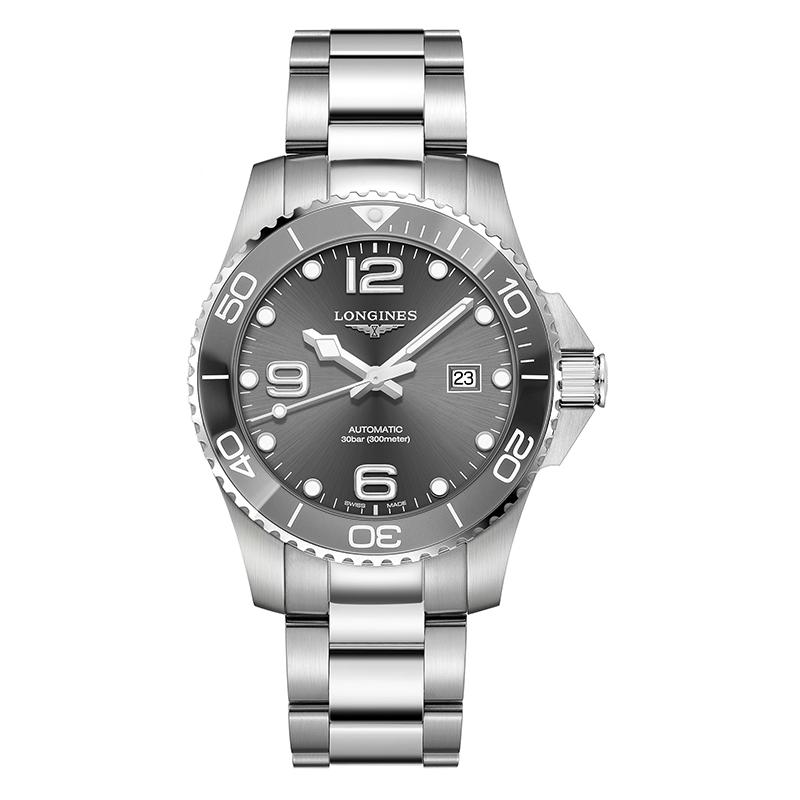 gioielli-e-orologiUomoOrologio Longines Hydroconquest acciaio raggera 43mm