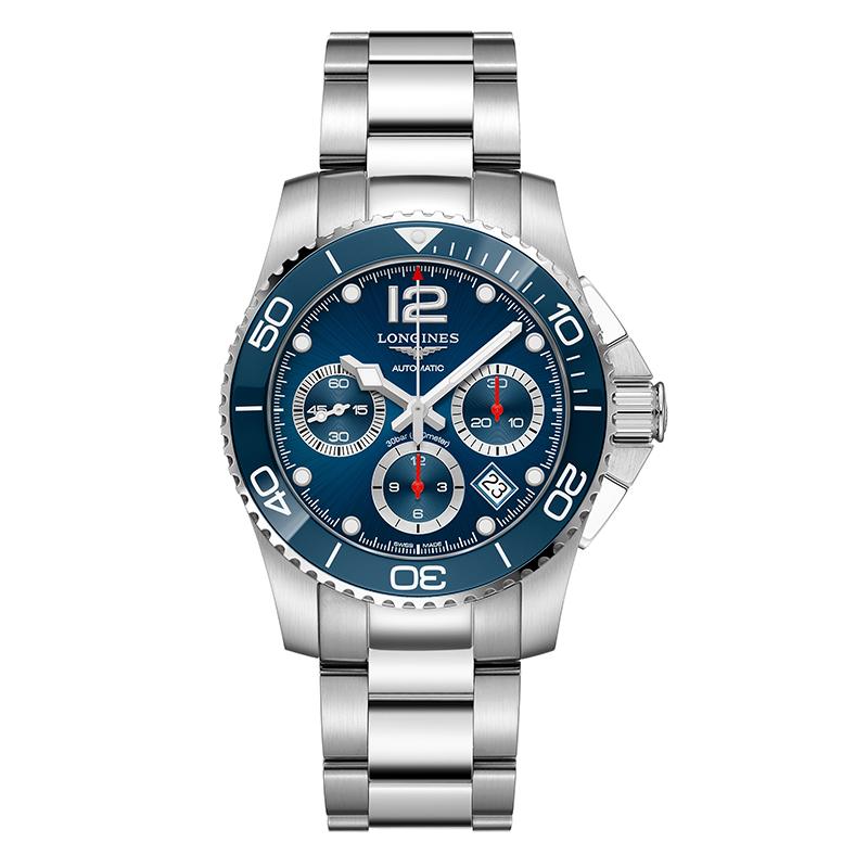 gioielli-e-orologiUomoOrologio Longines Hydroconquest blu cronografo