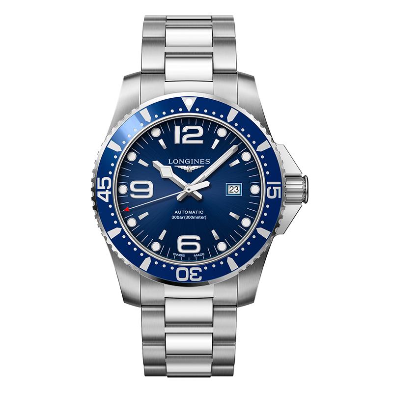 gioielli-e-orologiUomoOrologio Longines Hydroconquest grande acciaio blu