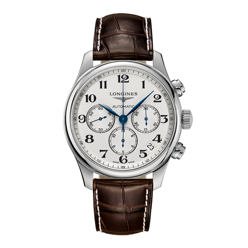orologi Uomo Orologio Longines Master Collection tre contatori