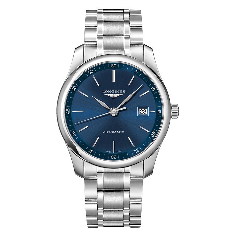gioielli-e-orologiUomoOrologio Longines Master grande blu a raggi