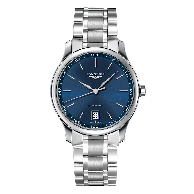 gioielli-e-orologiUomoOrologio Longines Master medio blu a raggi