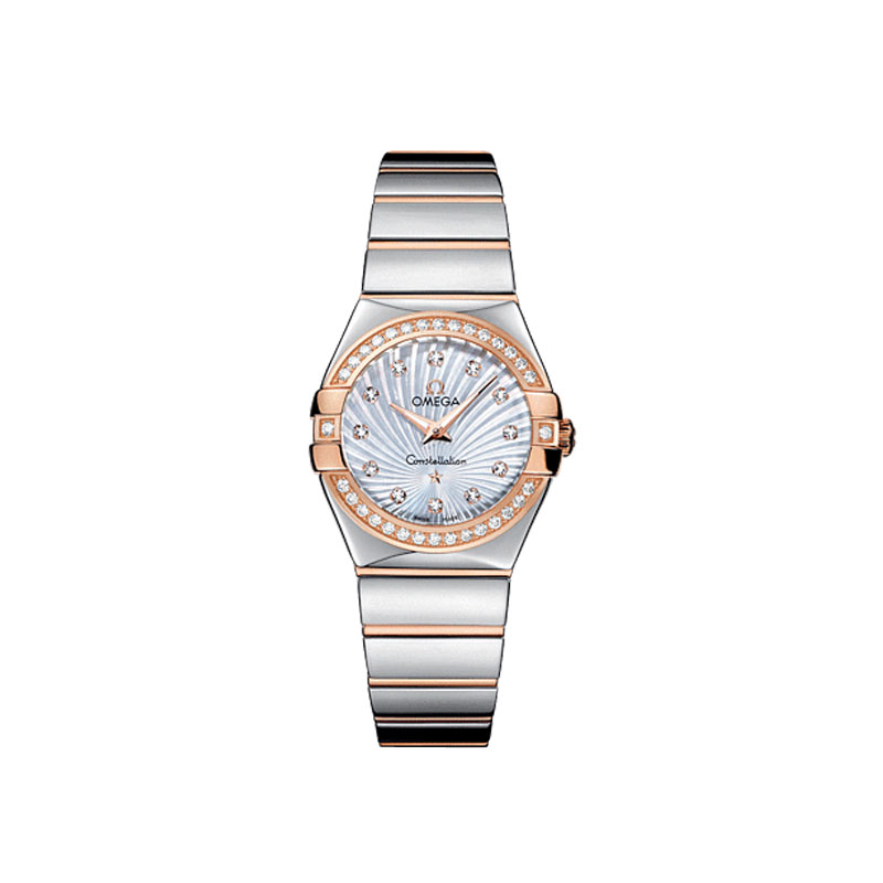orologi Donna Orologio Donna Omega Constellation Quartz