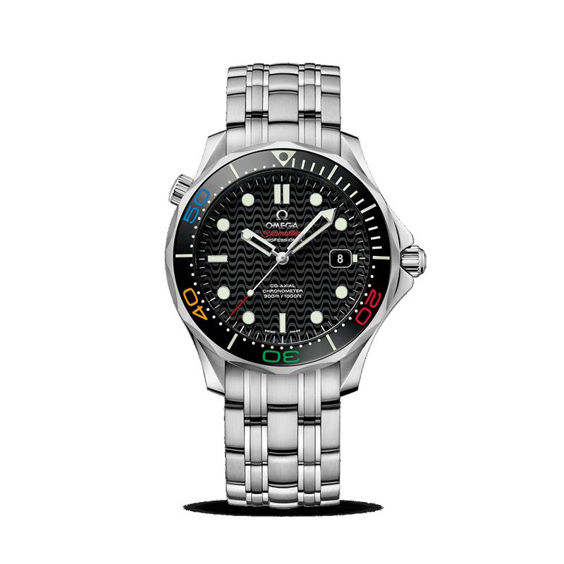 gioielli-e-orologiUomoOmega Seamaster Diver 300M Collezione Olimpica  EDIZIONE LIMITATA