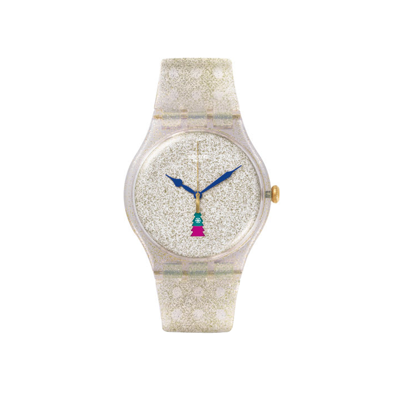 orologi Donna Orologio Donna Swatch Special Season Holiday Twist