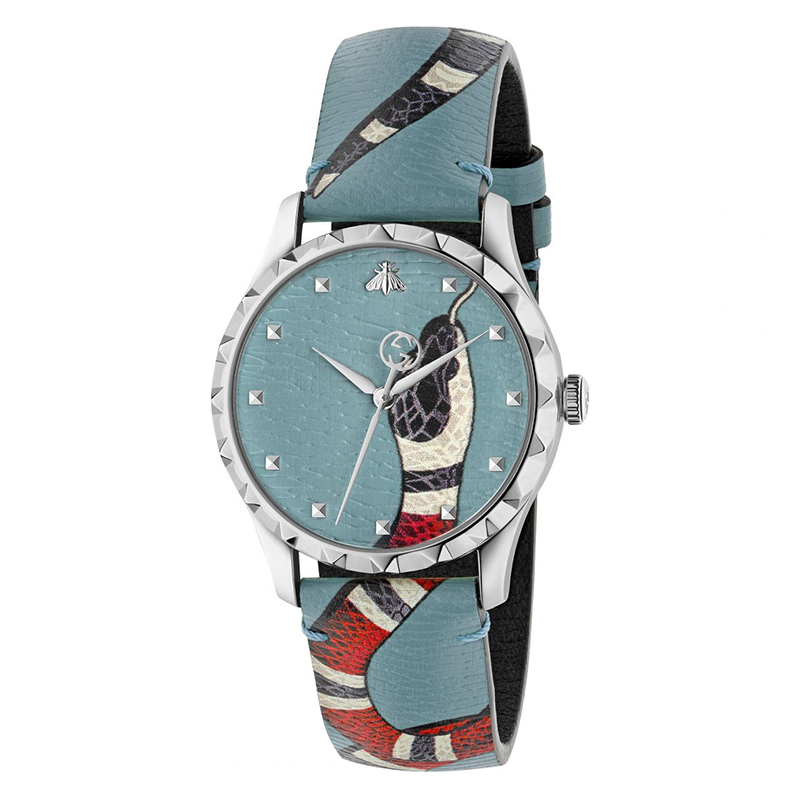 orologiUomoOrologio Uomo Gucci Le Marché des Merveilles azzurro