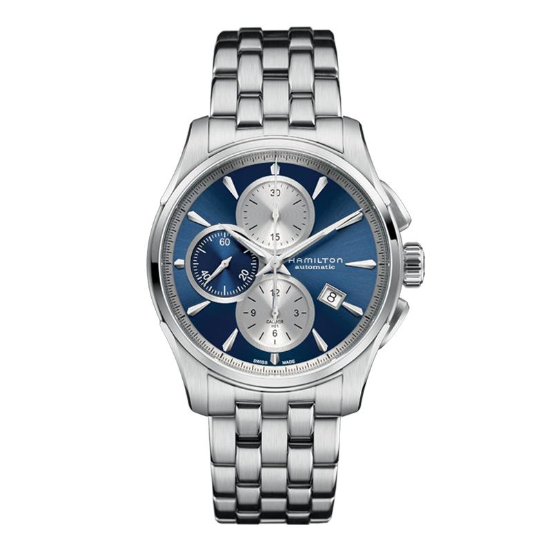 gioielli-e-orologiUomoOrologio Uomo Hamilton Jazzmaster quadrante blu classic