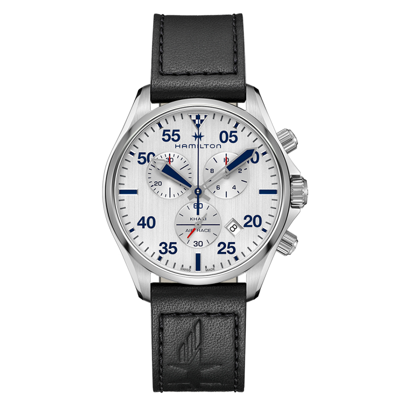 gioielli-e-orologiUomoOrologio Uomo Hamilton Khaki Aviation chrono quartz quadrante silver