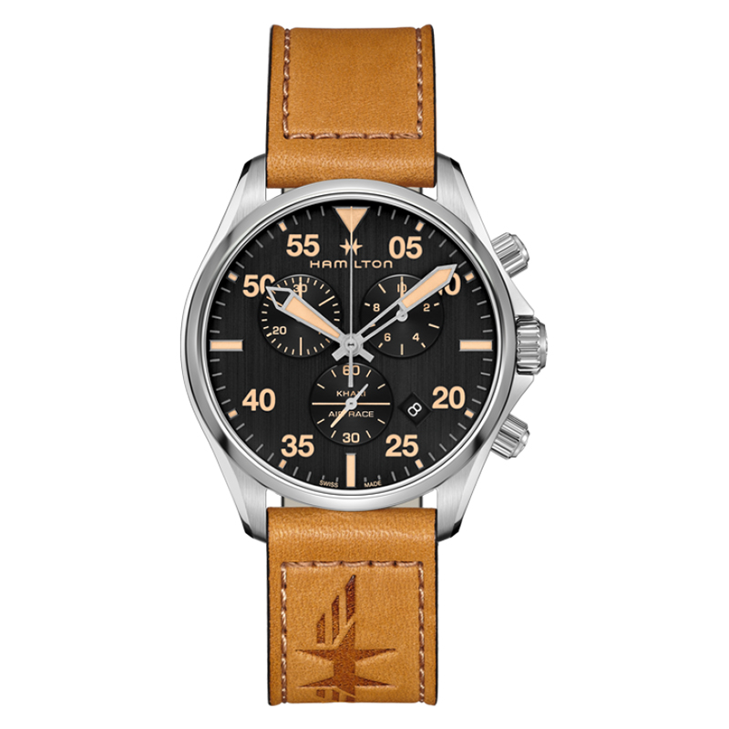 orologi Uomo Orologio Uomo Hamilton Khaki Aviation chrono quartz
