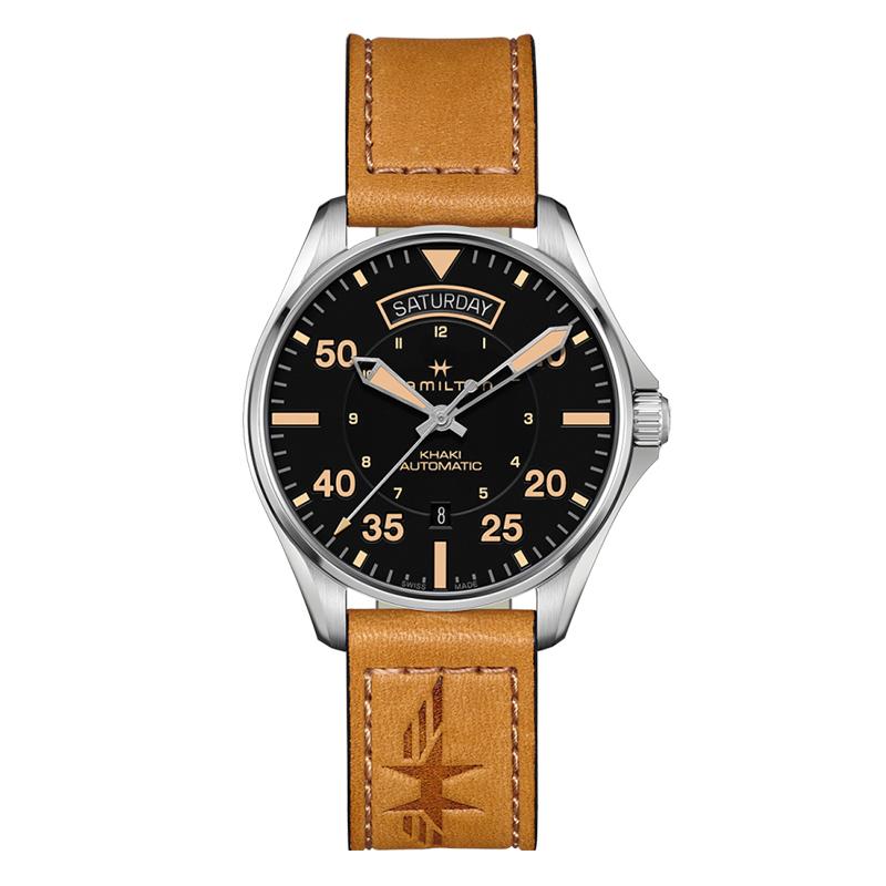gioielli-e-orologiUomoOrologio  Hamilton Khaki Aviation Pilot Day Date