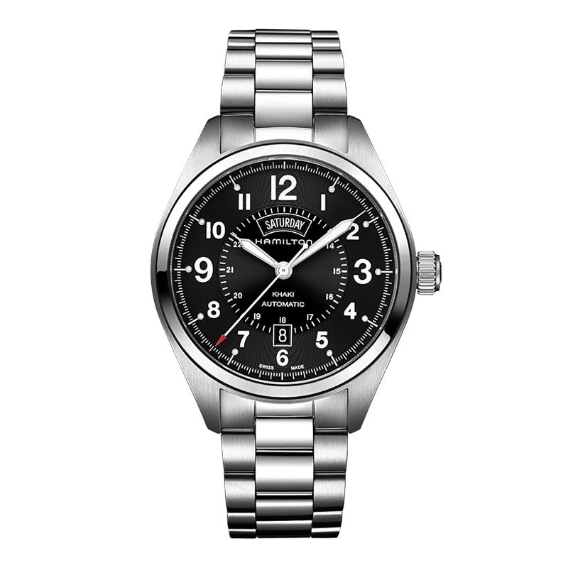 gioielli-e-orologiUomoOrologio  Hamilton Khaki Field day date