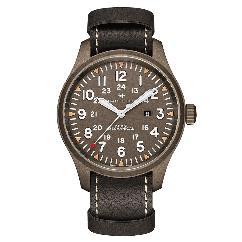 orologi Uomo Orologio Uomo Hamilton Khaki Field mechanical 50mm
