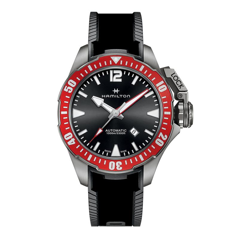 gioielli-e-orologiUomoOrologio Uomo Hamilton Khaki Navy Frogman titanium