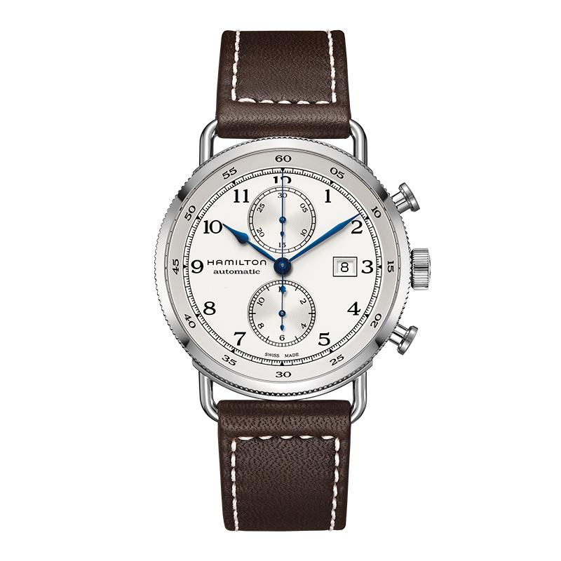 gioielli-e-orologiUomoOrologio  Hamilton Khaki Navy Pioneer chrono auto