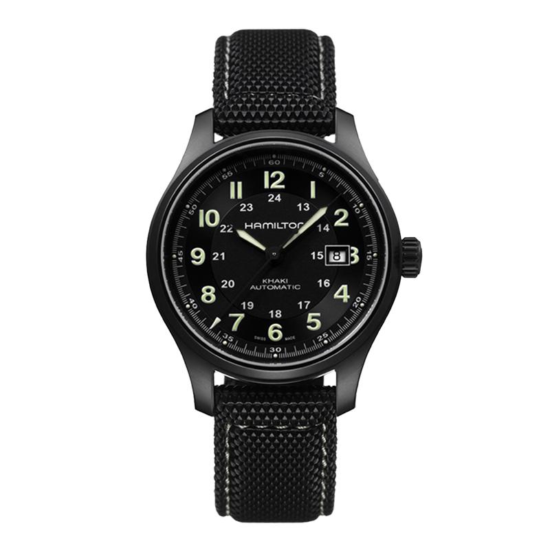 gioielli-e-orologiUomoOrologio Hamilton Khaki Titanium