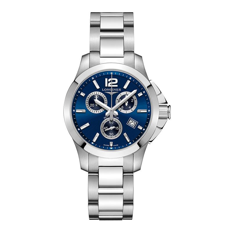 gioielli-e-orologiUomoOrologio Uomo Longines Conquest quarzo blu