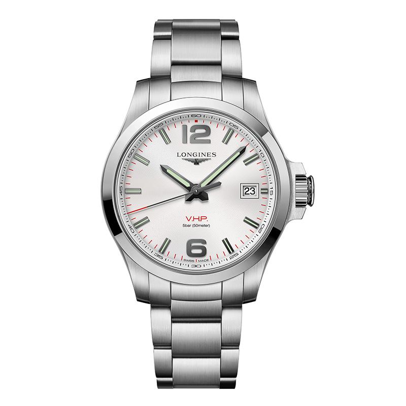 gioielli-e-orologiUomoOrologio Uomo Longines Conquest VHP argento
