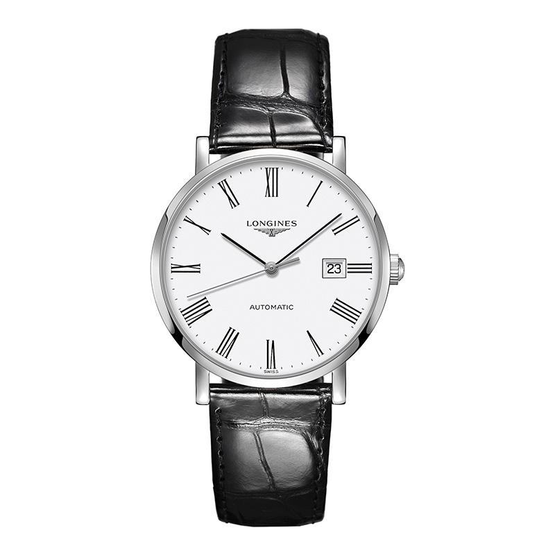 orologiUomoOrologio Uomo Longines Elegant quadrante bianco