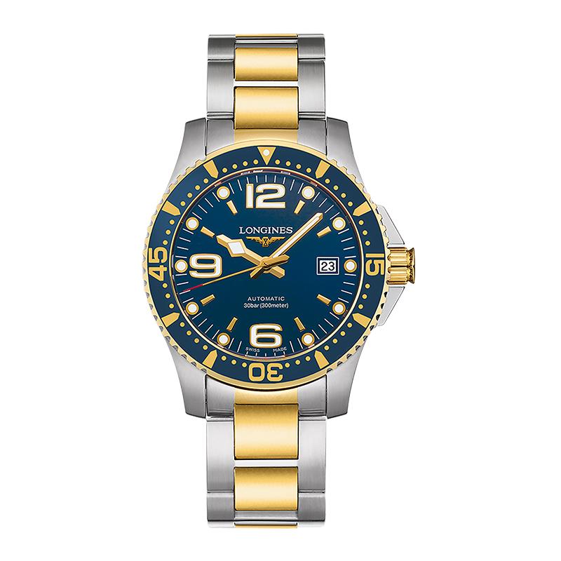 gioielli-e-orologiUomoOrologio Uomo Longines Hydroconquest blu rivestimento pvd