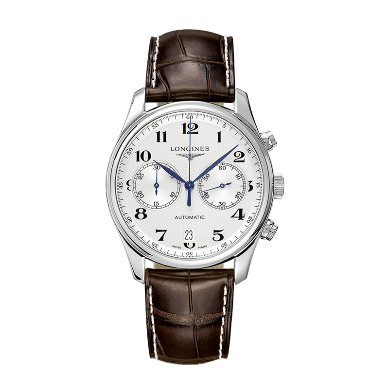 orologi Uomo Orologio Longines Master Collection due contatori