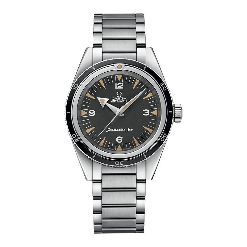 gioielli-e-orologiUomoOrologio Uomo Omega Seamaster 300 quadrante nero tropicale