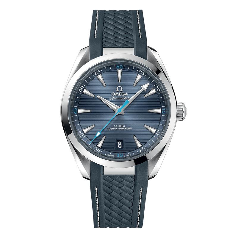 orologiUomoOrologio Uomo Omega Seamaster Aqua Terra blu