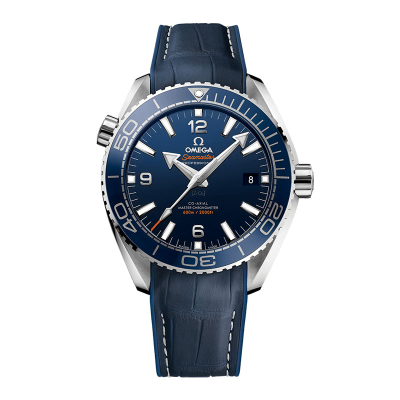 orologi Uomo Omega Seamaster Planet Ocean 600 M Co-Axial Master Chronometer 43,5 mm blu