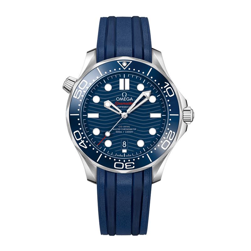 orologiUomoOmega Seamaster 300M Diver Co-axial Master Chronometer Quadrante Blu