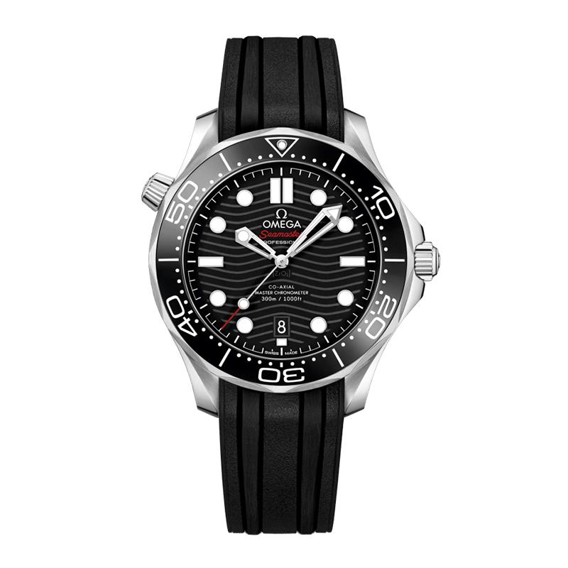 orologiUomoOmega Seamaster 300M Diver Co-Axial Master chronometer Quadrante Nero