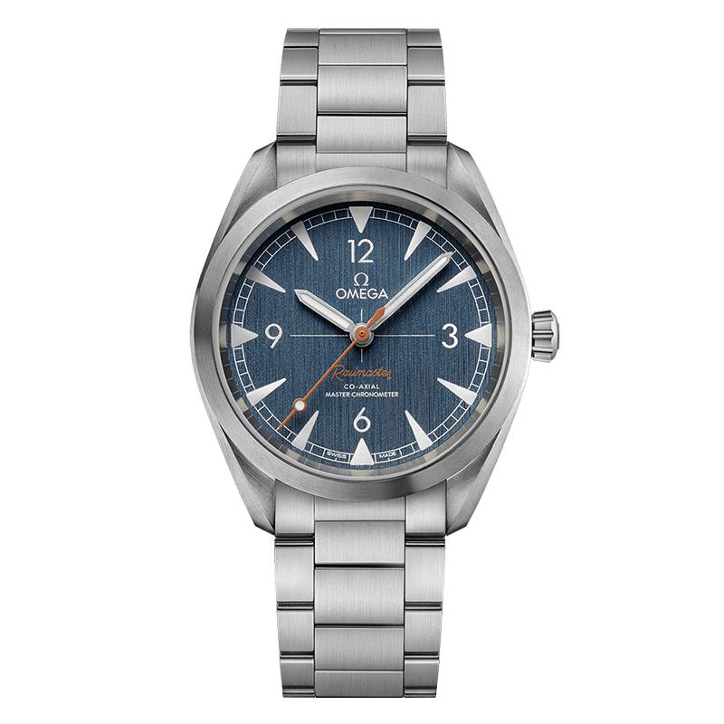 gioielli-e-orologiUomoOrologio Uomo Omega Seamaster Master chronometer blu jeans
