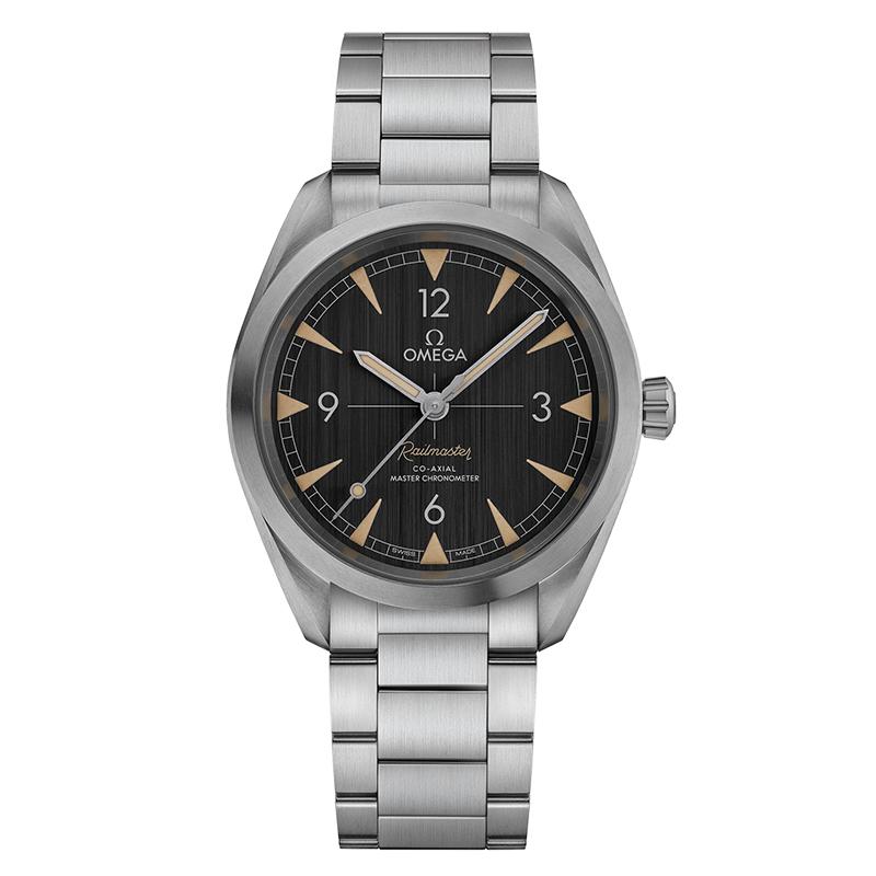 gioielli-e-orologiUomoOrologio Uomo Omega Seamaster Master chronometer nero spazzolato